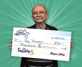 Arizona Lottery Winner Jay Brooks