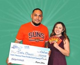 Arizona Lottery Winner Bodie Chavez