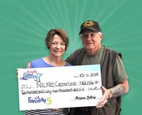 Arizona Lottery Winner Nickie Gemrose