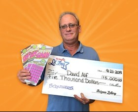 Arizona Lottery Winner David Alf