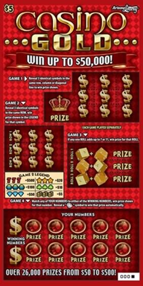Casino Gold #1164 | Arizona Lottery
