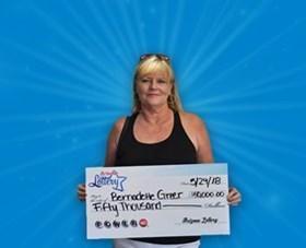Arizona Lottery Winner Bernadette Greer