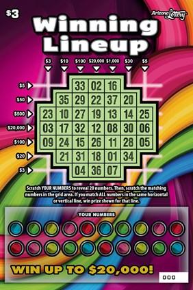 Winning Lineup #1203 | Arizona Lottery