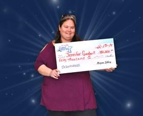 Arizona Lottery Winner Jennifer Goodwill