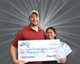 Arizona Lottery Winner Lucky Birthday Winner