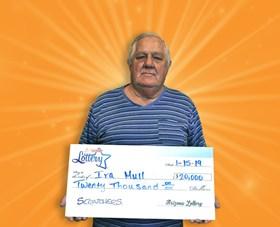 Arizona Lottery Winner Ira Mull