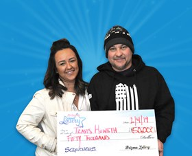Arizona Lottery Winner Travis Howeth