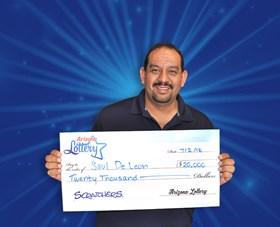 Arizona Lottery Winner Saul DeLeon
