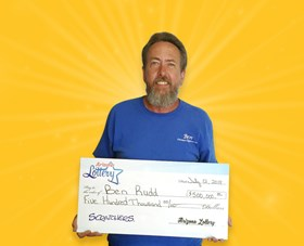 Arizona Lottery Winner Ben Rudd