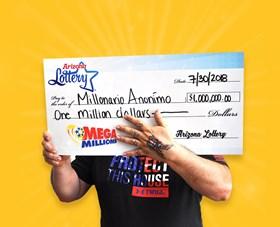Arizona Lottery Winner Millonario Anonimo