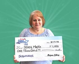 Arizona Lottery Winner Stacy Maple