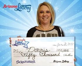 Arizona Lottery Winner Donnis