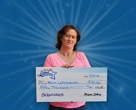 Arizona Lottery Winner Kevin Lukaszewski