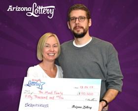 Arizona Lottery Winner The Mund Family