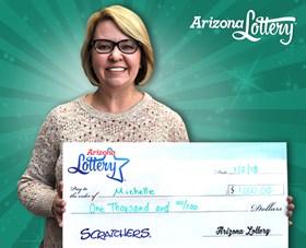 Arizona Lottery Winner Michelle