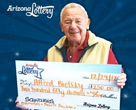 Arizona Lottery Winner Alfred Bielsky