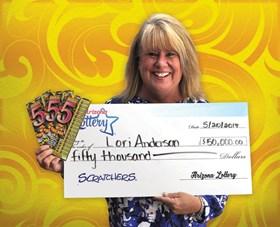 Arizona Lottery Winner Lori Anderson