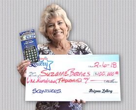 Arizona Lottery Winner Suzanne Barnes
