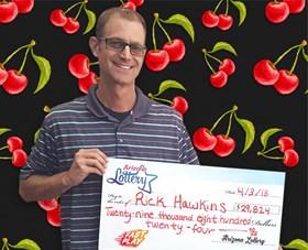 Arizona Lottery Winner Rick Hawkins