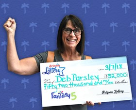 Arizona Lottery Winner Deb Parsley