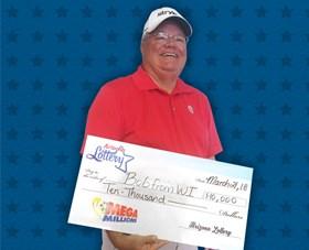 Arizona Lottery Winner Bob from WI