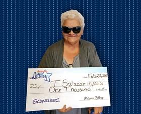 Arizona Lottery Winner T Salazar