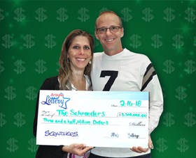 Arizona Lottery Winner The Schroeders