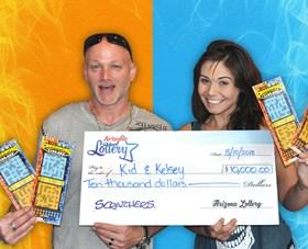 Arizona Lottery Winner Kid & Kelsey