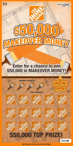 $50,000 Makeover Money #1201 | Arizona Lottery
