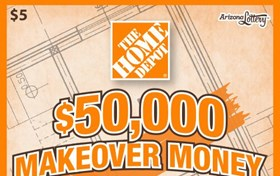 $50,000 Makeover Money  Logo