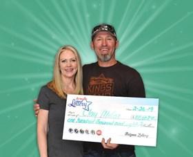 Arizona Lottery Winner Clay Miller