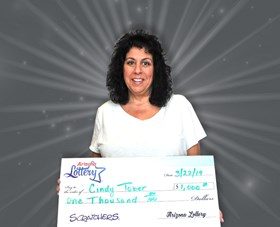 Arizona Lottery Winner Cindy Tober