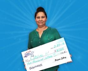 Arizona Lottery Winner Catalina P.