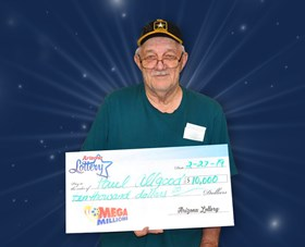 Arizona Lottery Winner Paul Allgood