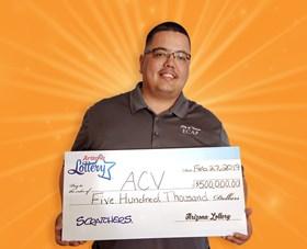 Arizona Lottery Winner ACV