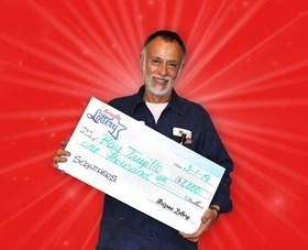 Arizona Lottery Winner Ray Trujillo