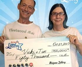 Arizona Lottery Winner Vicki & Tim