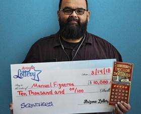 Arizona Lottery Winner Manuel Figueroa