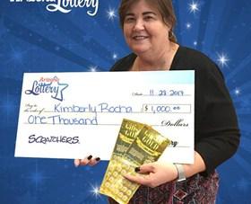 Arizona Lottery Winner Kimberly Rocha