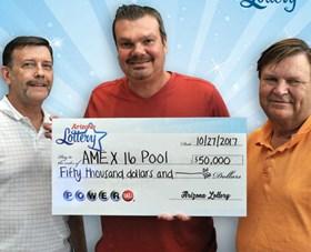 Arizona Lottery Winner AMEX 16 Pool