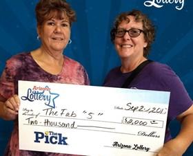 Arizona Lottery Winner The Fab 5