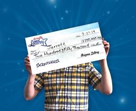 Arizona Lottery Winner Jarrett