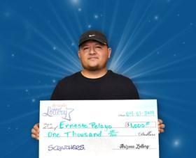 Arizona Lottery Winner Ernesto Pelayo