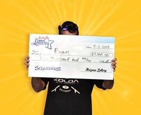 Arizona Lottery Winner Ryan