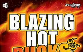 Blazing Hot Bucks Logo
