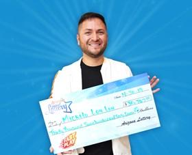Arizona Lottery Winner Mickito Lou Lou