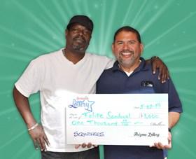 Arizona Lottery Winner Felipe Sandoval