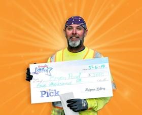 Arizona Lottery Winner Bryan Pond