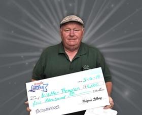 Arizona Lottery Winner Walter Thompson