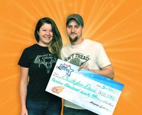 Arizona Lottery Winner Christopher Davis